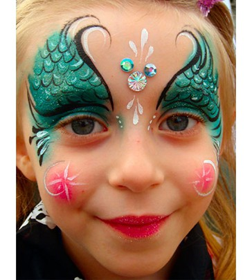 Face Painting sample 8sm