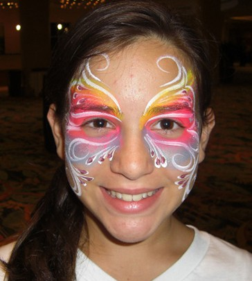 Face painting sample2 sm