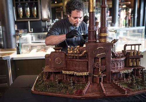Chocolate Sculpting
