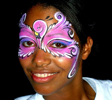 Face Painting Renette flamingo
