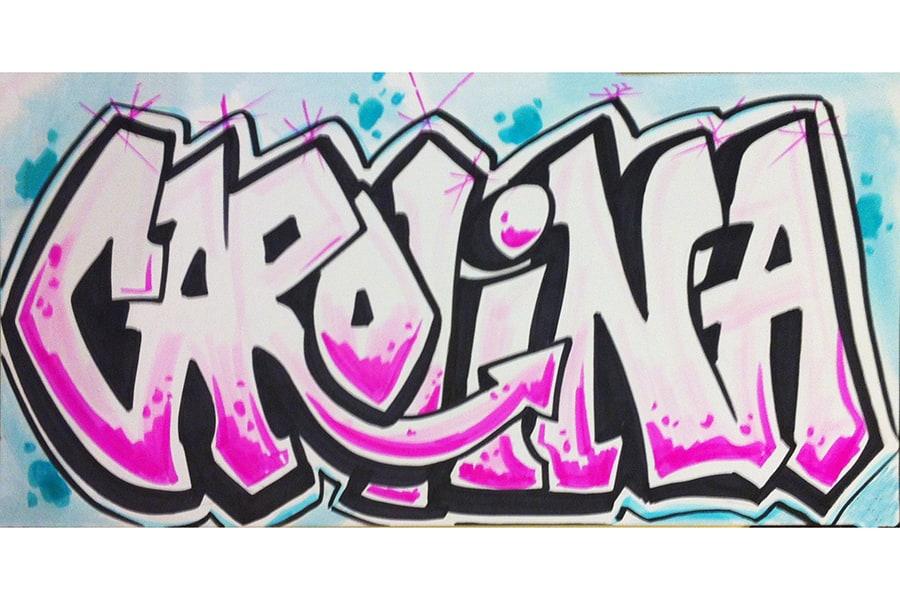 Картинки граффити с именем ангелина