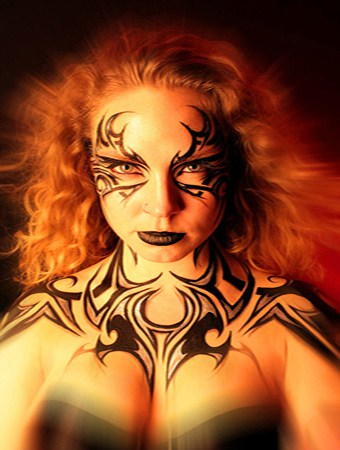 Body Painting Artistic Talent Group