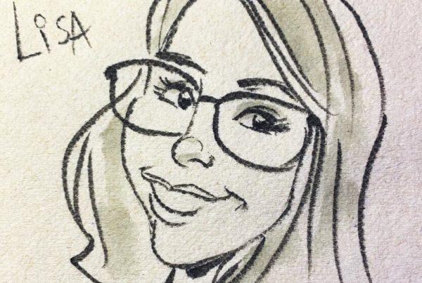 Napkin Caricatures
