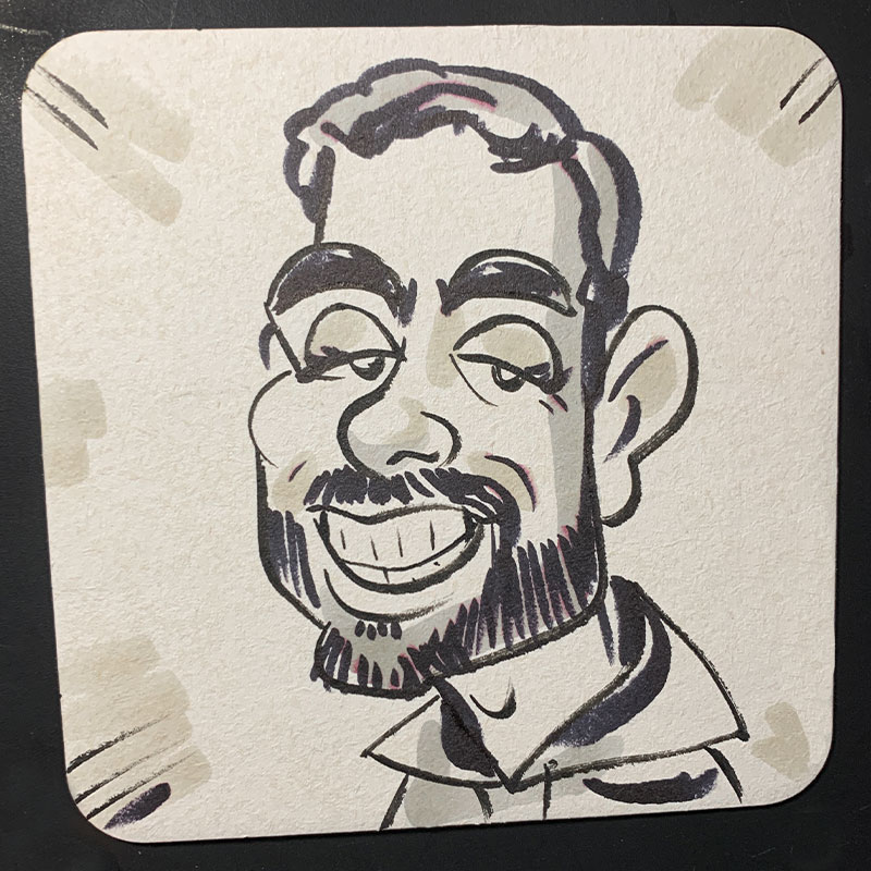 Coaster Cartoon