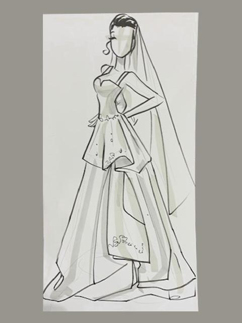 Bridal Sketch
