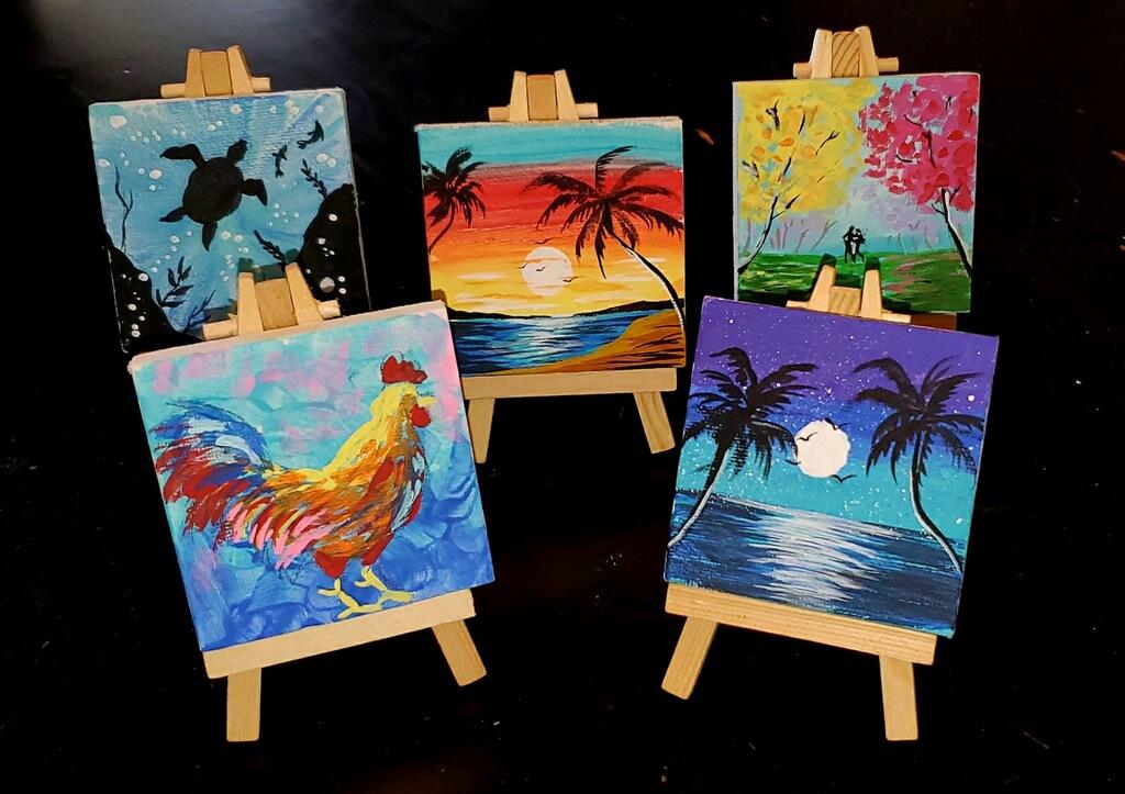 Mini Canvas Group