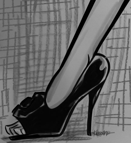 Fashion Sketch shoe 1sm