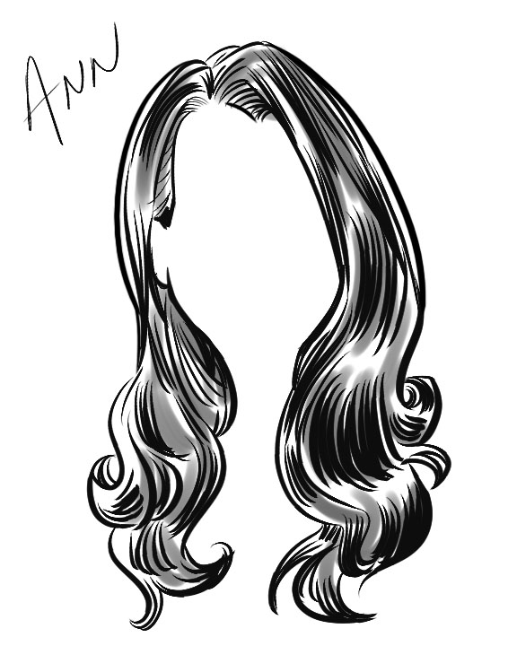 Hair-icature2