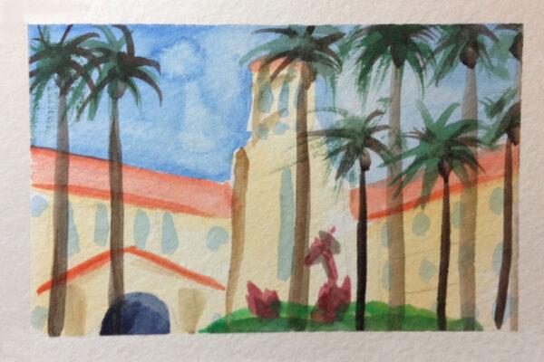 watercolor hospital 1